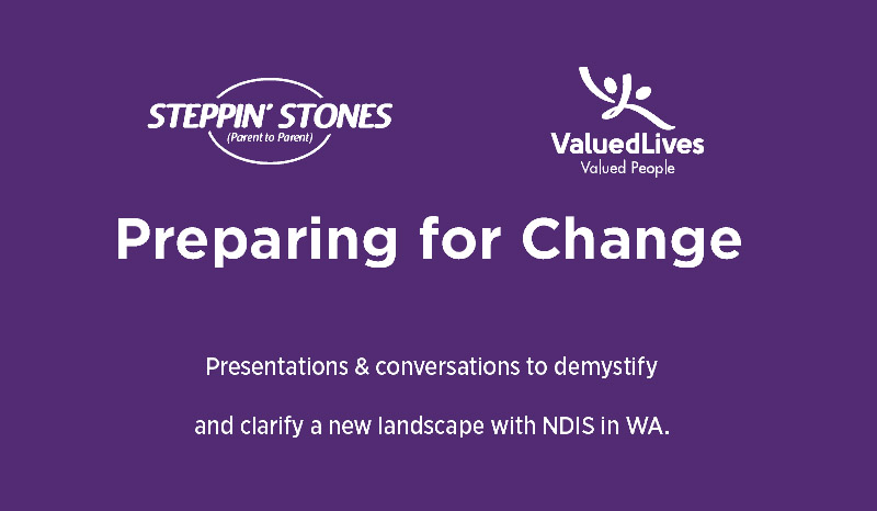 Valued Lives to Participate in 'Preparing for Change' Forum hosted by Steppin' Stones