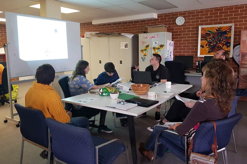 Image description: Valued Lives planning session