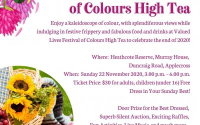 Festival of Colours High Tea