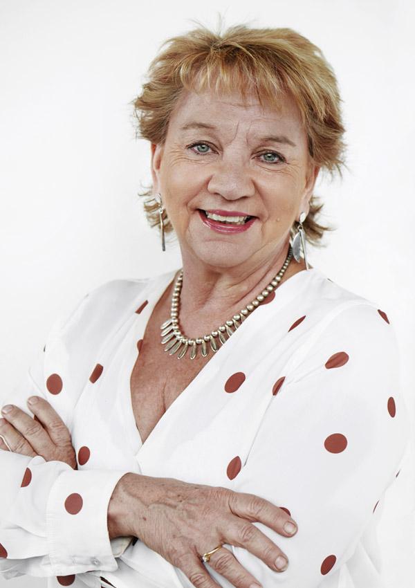 Image description: Portrait of Bronia Holyoak, CEO of Valued Lives