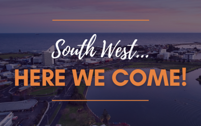 South West …. Here We Come!!